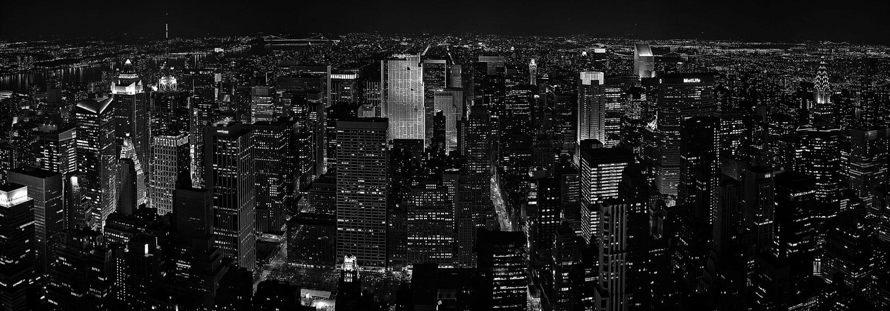 New York als Leinwandfoto
