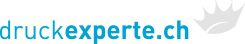 Logo druckexperte.ch Drucksachen online